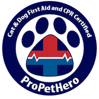 Cat and Dog First Aid and CPR Certified - Pro Pet Hero Badge