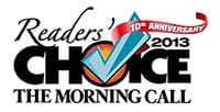 The Morning Call 2013 Reader's Choice 10th Anniversary Logo